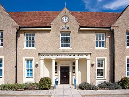 War Memorial Hospital Gosport